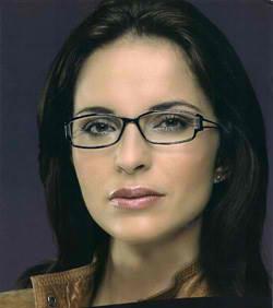 Womans glasses